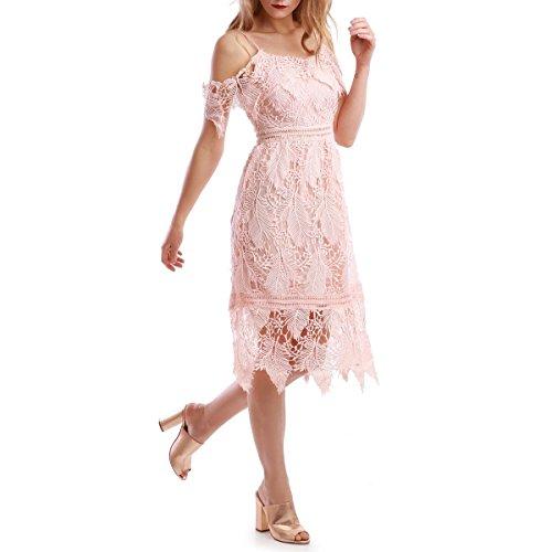 La Modeuse - Vestido - para mujer Rose