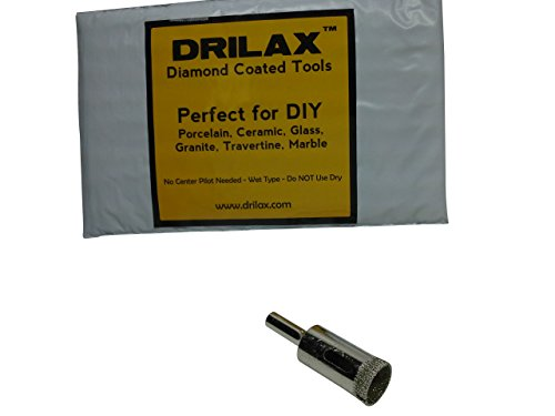 Drilax174; Small Diamond Coated Drill Bit Hole Saw Pick Size 1/4