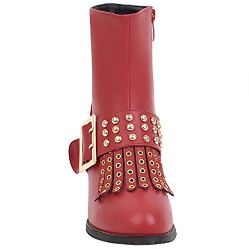 AIYOUMEI WoMen AIYOUMEI Red Classic Boot WoMen Boot Classic Red AIYOUMEI wtdBCBq
