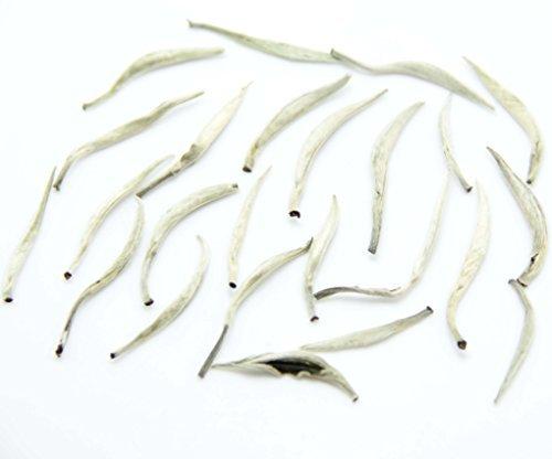 Lida-2017yr Better Quality Bai Hao Yin Zhen Bai Hao Silver Needle White Tea Chinese Tea-Loose Leaf Tea-1000g/35.3oz