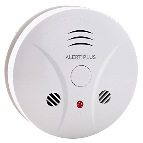 Smoke and Carbon Monoxide Combo Detector Photoelectric