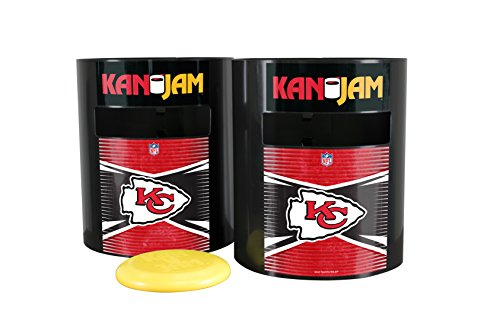 Kan Jam NFL Kansas City Chiefs Disc Gamekansas City Chiefs Disc Game, Team Color, 11.875