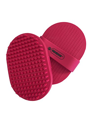Pixikko Pet Curry Brush / Comb for Bathing - Massaging - Deshedding - on Wet or Dry Hair
