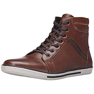 Kenneth Cole Unlisted Men's Crown Worthy Fashion Sneaker, Cognac, 10.5 M US