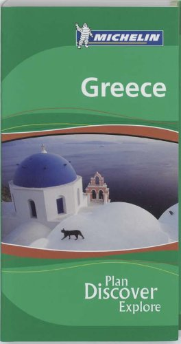 Michelin the Green Guide Greece (Michelin Green Guides)