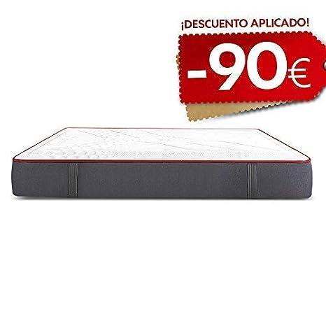 El Mejor colchón para Dormir, dureza Media Alta. Máxima transpirabilidad e Independencia de lechos: Amazon.es: Hogar
