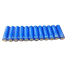 BedfordPower 12x AA NiCd Rechargeable Batteries for Solar Light Lamp