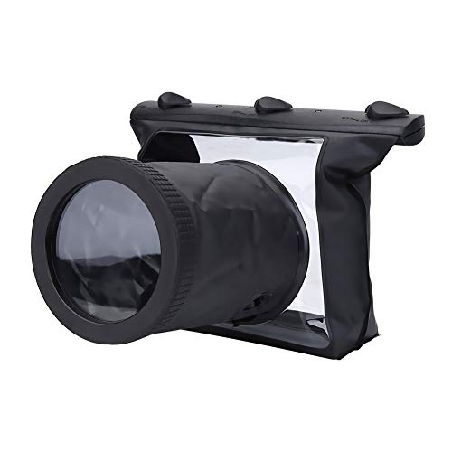 Vbestlife Waterproof Underwater Camera Housing Case Dry Bag Pouch for Canon SLR DSLR Camera