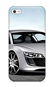 High Grade AndreaPope Flexible Tpu Case For Iphone 5c - Audi R8 11 by mcsharks