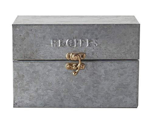 agnolia Metal Recipe Box ()