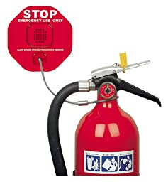 Safety Technology International, Inc. STI-6200 Fire Extinguisher Theft Stopper, Alarm Helps Prevent Misuse