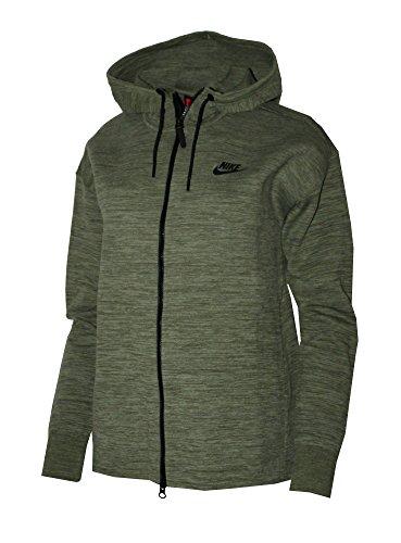Nike Sportswear Tech Knit Women's Jacket Palm Green (Medium) ()