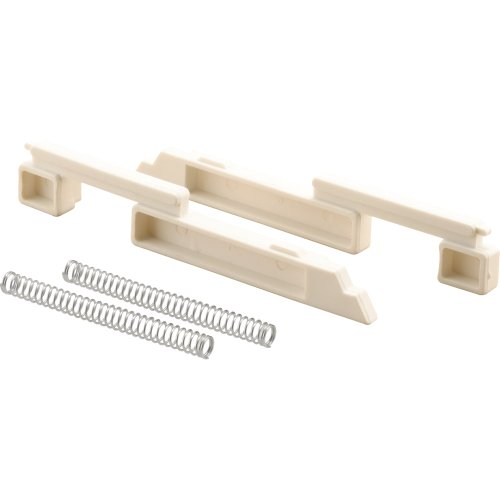 Prime-Line Products T 8688 Slide Bolt and Spring Set, Nylon,(Pack of -