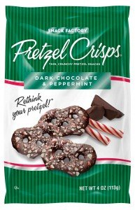Pretzel Crisp, Dark Chocolate and Peppermint, 4 (Peppermint Crisp)