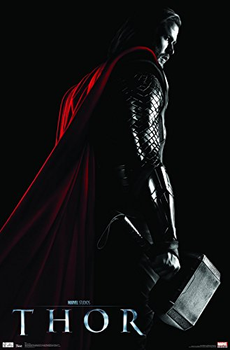 Movie International Poster - Trends International Wall Poster Thor One Sheet, 22.375