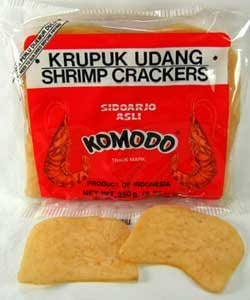 Kerupuk, Krupuk, Kroepoek (Shrimp Crackers)