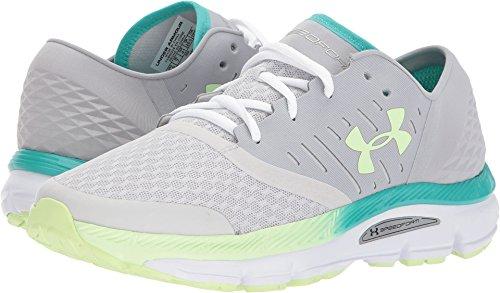 Under Armour Women's Speedform Intake Running Shoe, Overcast (941)/Glacier Gray, 8