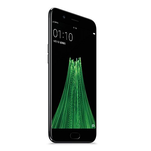 OPPO R11 5.5 Inch Smartphone Android 7.1 16.0MP + 20.0MP Dual Rear Cam + 20.0MP Front Cam Snapdragon 660 FHD Screen 4GB 64GB VOOC Flash Charge (Black)