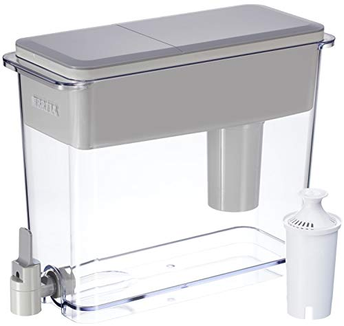 Brita Extra Large Ultra-Max 18 Cup Filtering Dispenser (Gray/White)