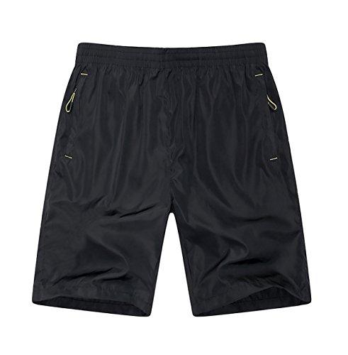 mens-quick-dry-shorts-zipper-pockets-black-xl