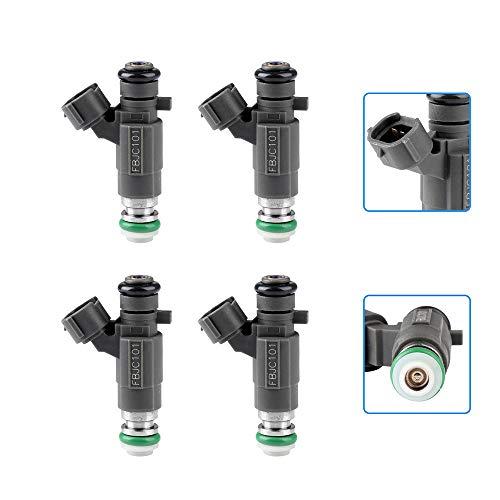 cciyu Injectors, 18 Holes Fuel Injector Set fit for 03-08 Infiniti FX45,02-04 Infiniti I35,03 04 06-10 Infiniti M45,03-06 Infiniti Q45,02-03 Nissan Altima Maxima,03 Nissan Murano 842-12239,4 Pieces ()