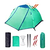 Backpacking Tent - Zenph Backpacking Tent, 2 Person Ultralight Waterproof Camping Tent, Two Doors Easy Setup 4 Season Tent for Outdoor, Hiking Mountaineering