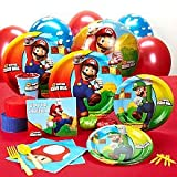 Super Mario Bros. Standard Party Pack (8 pk), Health Care Stuffs