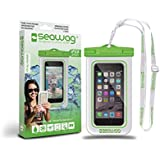 SEAWAG Universal Waterproof Case for Smartphone 5.7 (White/Green)