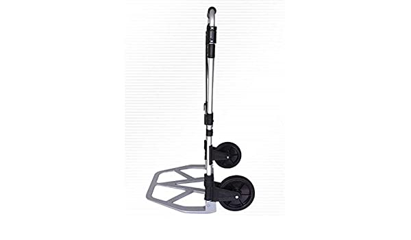 DNSJB Fashion Folding Portable Aluminum Alloy Trolley car is Sturdy and Durable Easy to Install