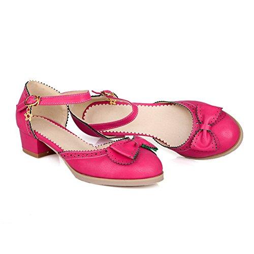 Adee , Damen Sandalen, Rot - Pink - Größe: 38 EU