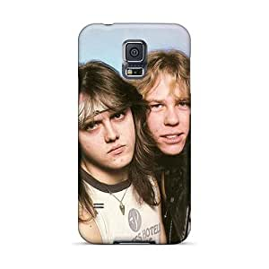 NataliaKrause Samsung Galaxy S5 Shockproof Hard Phone Case Provide Private Custom Fashion Metallica Band Skin [vmv14135BNzU]