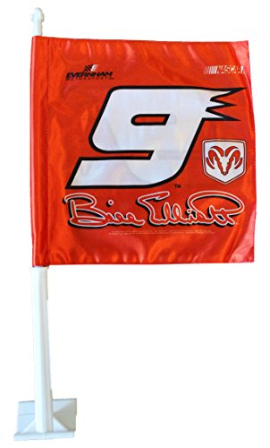 Bill Elliott Flags (Bill Elliott - Nascar Car Flag)
