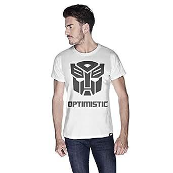 Creo Optimus T-Shirt For Men - M, White