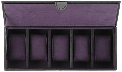Wolf Designs 305528 Leather Lizard Watch Case by WOLF (Image #2)