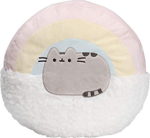 """GUND Pusheen Rainbow Pillow Plush Stuffed Animal Cat, 13"""""""