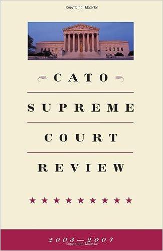 Cato Supreme Court Review 2003-2004