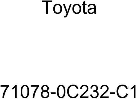 TOYOTA Genuine 71078-0C232-C1 Seat Back Cover