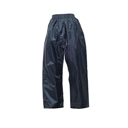 Regatta Professional Mens Mens Stormbreak Light Waterproof Overtrousers Navy M - Waist 33-34