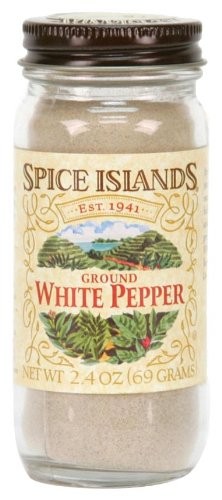 - Spice Islands Pepper, White Ground, 2.4 Ounce
