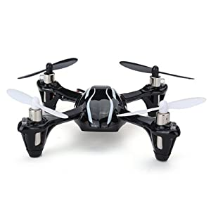 HobbyFlip RTF with Transmitter Mini Quad Rotor UFO Ready to Fly for Hubsan X4 H107L 413xdIo8ZyL