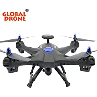Dressffe, quadrocopters with camera gps, Global Drone X183 GPS With 2MP WiFi FPV HD Camera GPS Brushless Quadcopter