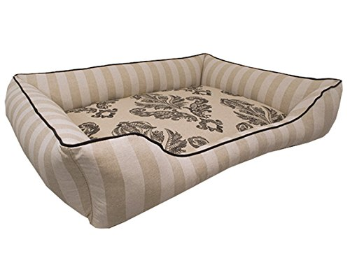 X-Large French Country Dog Bed - Washable Reversible by J'adore Custom Pet Beds