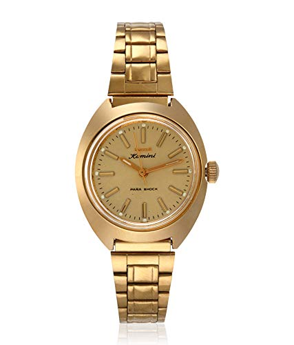 dd6c663ed1f Buy HMT Kamini Analogue Gold Dial Mechanical Women s Watch Online at Low  Prices in India - Amazon.in