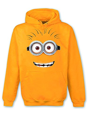 Despicable Me Hoodie Minion Dave (L) - Minion Hoodie For Adults