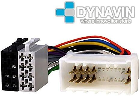 ISO-KIA.2004 - Conector iso universal para instalar radios en Kia y Hyundai.