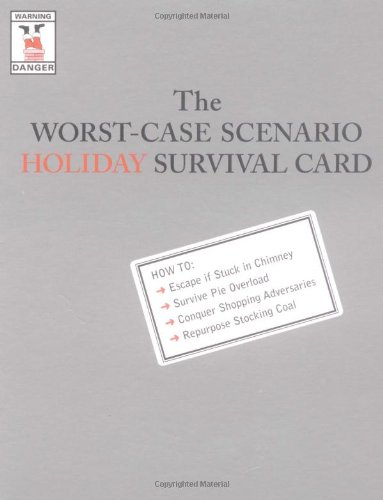 - The Worst-Case Scenario Holiday Survival Cards: Stuck in Chimney