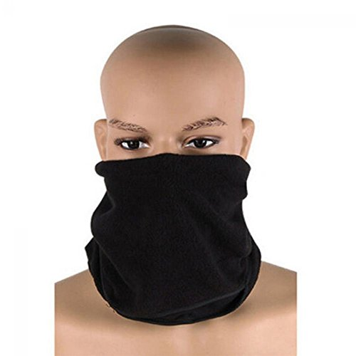 gangnumskythaii Hood Motorcycle Ski Mask Cycling Riding Training Snowboard Fashion Women Men Ski Sports Full Face Cover Hat Thermal Fleece Balaclava Protect Neck Winter (Daft Punk Skeleton Costume)