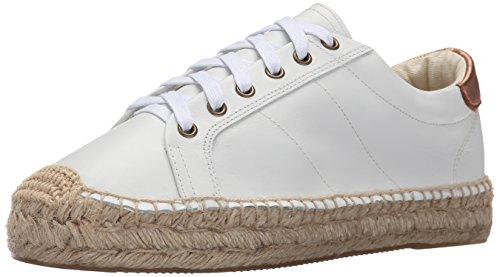 Soludos Femmes Plateforme Tennis Mode Sneaker Blanc