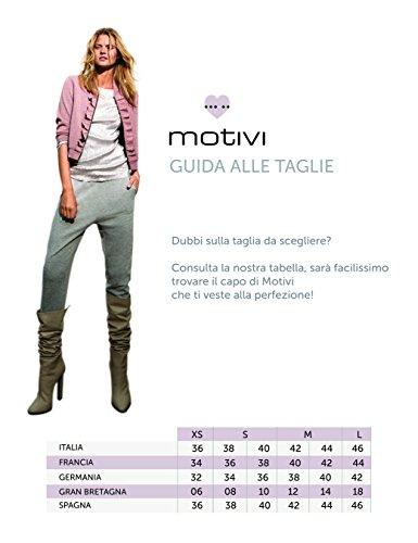 Motivi - Joggers deportivos en tejido de sudadera perchado mélange , Mujer Gris