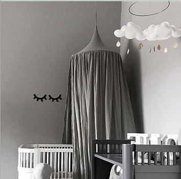 Betthimmel Baldachin Aus Baumwolle Leinwand Deko,Bett Überdachung Für  Baby Kind Zelte